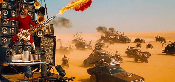 escena de la pelicula mad max: fury road