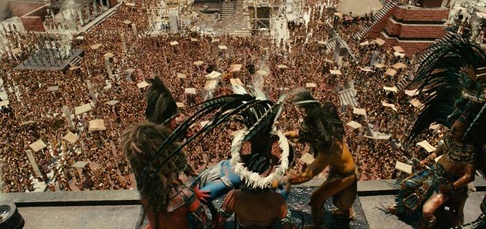 escena de la película apocalypto