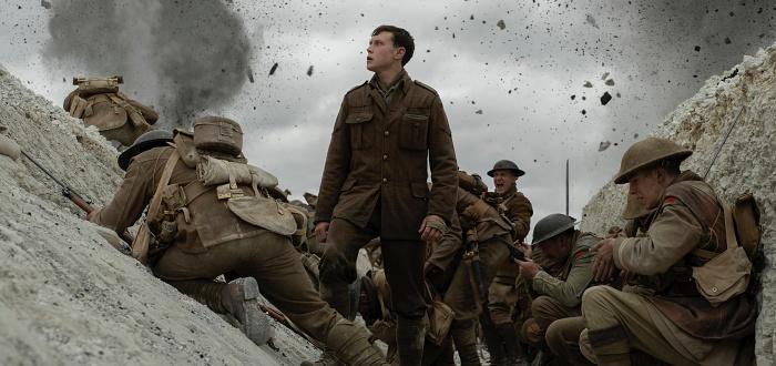 escena de la pelicula 1917