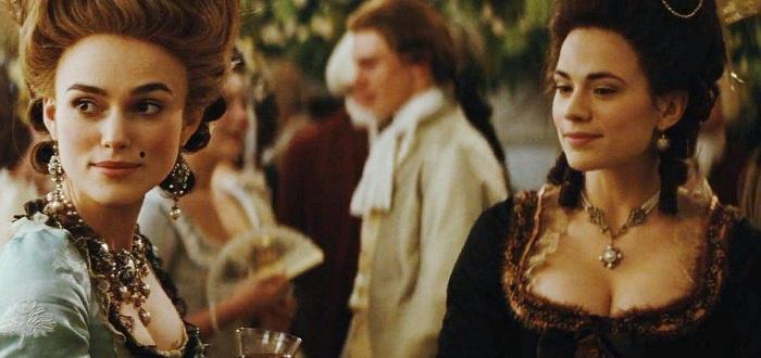 escena de la pelicula la duquesa de 2008