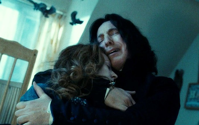 actor alan rickman como severus snape en harry potter