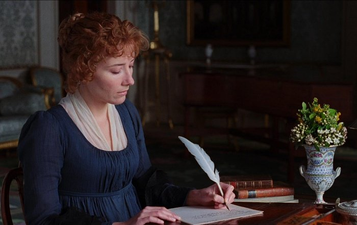actriz emma thompson como elinor dashwood en sense and sensibility