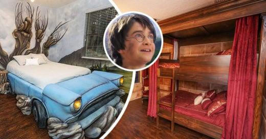 En Airbnb ya puedes hospedarte en una casa temática de Harry Potter