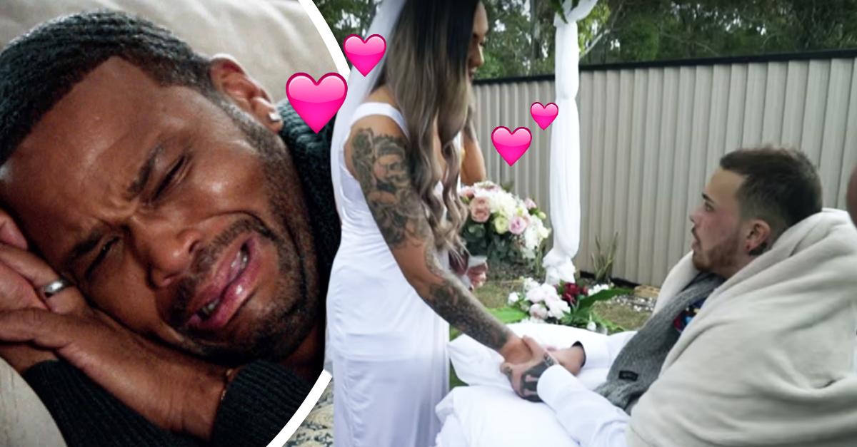 Pareja se casa y horas después del matrimonio él fallece por enfermedad terminal
