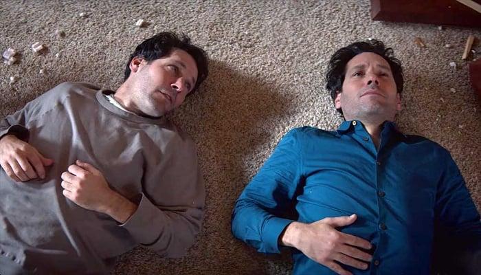 escena de la serie de netflix living with yourself con paul rudd