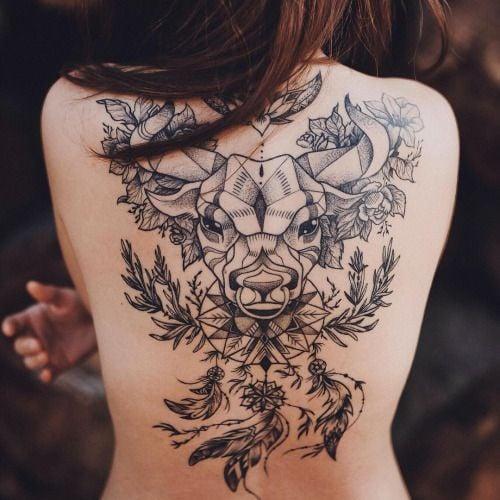 Tatuaje toro