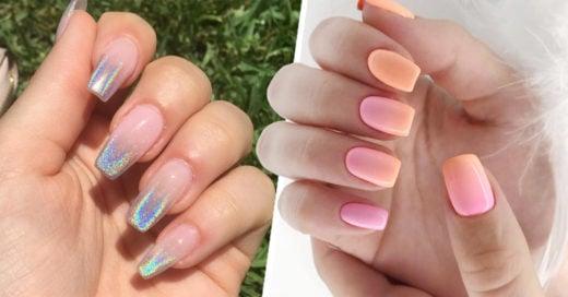 15 Estilos de uñas de efecto degradado que llenarán tus manos de estilo