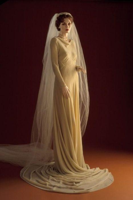 vestido de novia de 1932