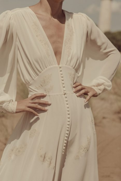 vestidos de novia inspirados en los años 30's