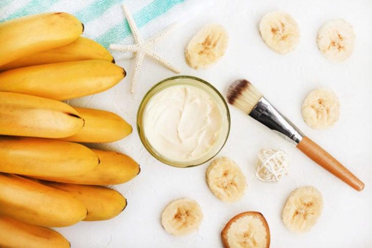 Mascarilla de plátano para hidratar la piel
