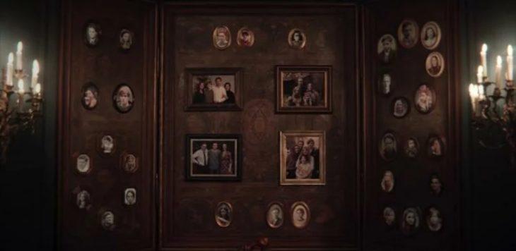 Escena de la serie Dark mostrando la unión entre las familias Kahnwald, Doppler, Nielsen y Tiedemann