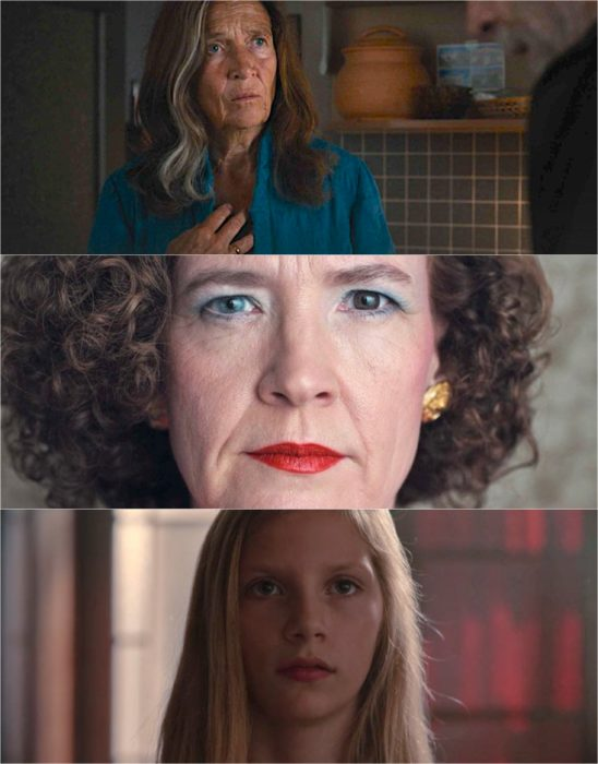 lisabeth Doppler, Claudia Tiedemann y Jana Nielsen personajes de Dark