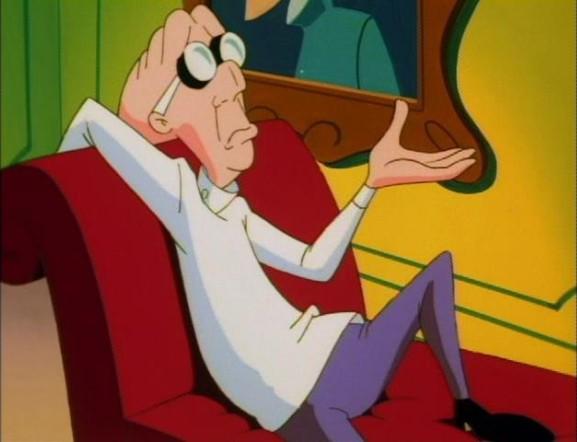 Dr. Rascahuele personajes animados de la caricatura Animaniacs