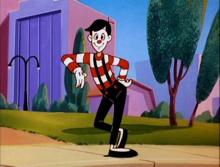 L ahora del mimo personajes animados de la caricatura Animaniacs