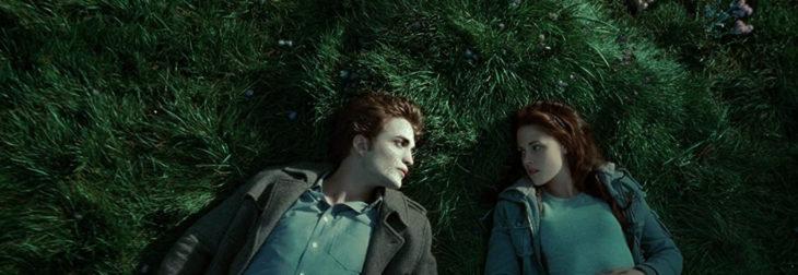 Escena de Crepúsculo en la que sale Bella y Edward