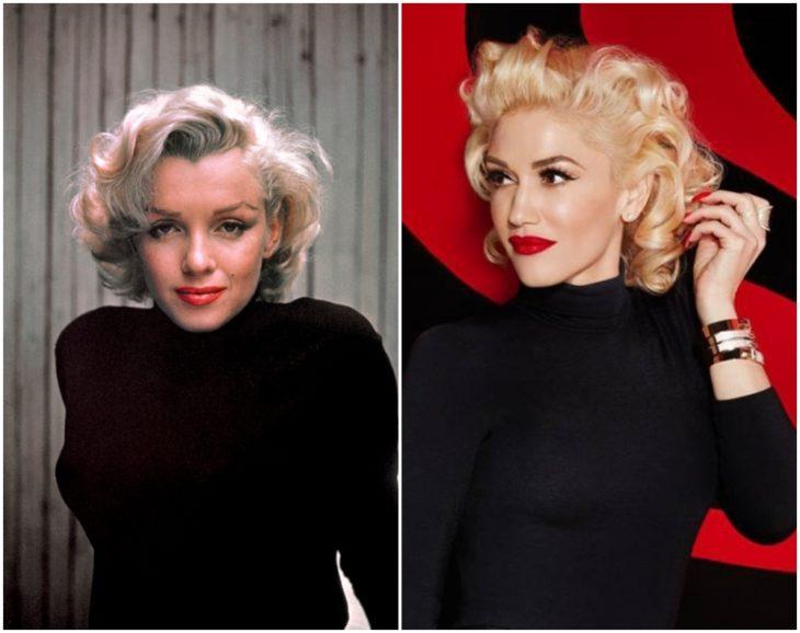 Marilyn Monroe y Gwen Stefani