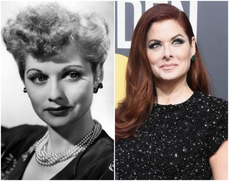 Lucille Ball y Debra Messing
