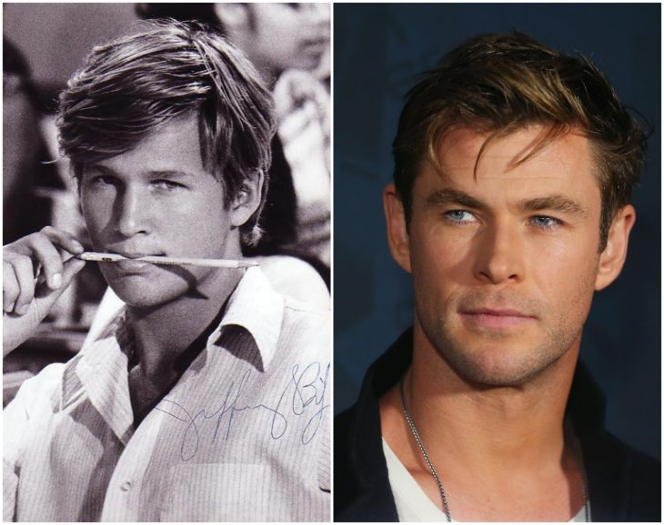 Jeff Bridges y Chris Hemsworth