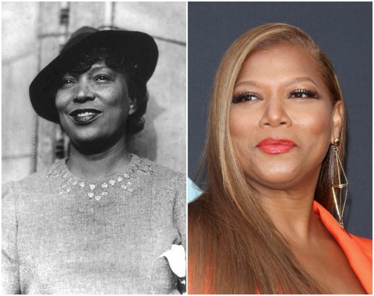 Zora Neale Hurston y Queen Latifah