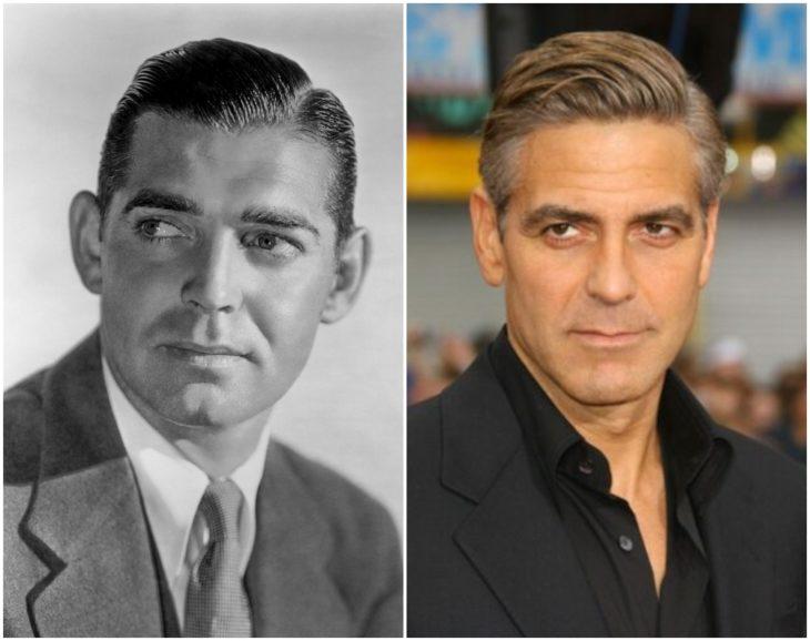 Clark Gable y George Clooney