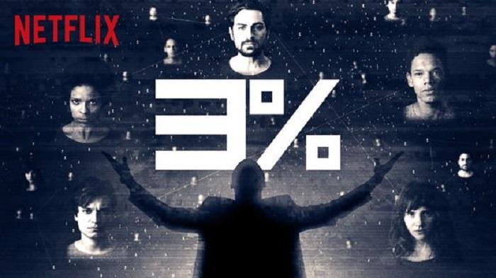 Imagen de publicidad de la serie de Netflix 3%