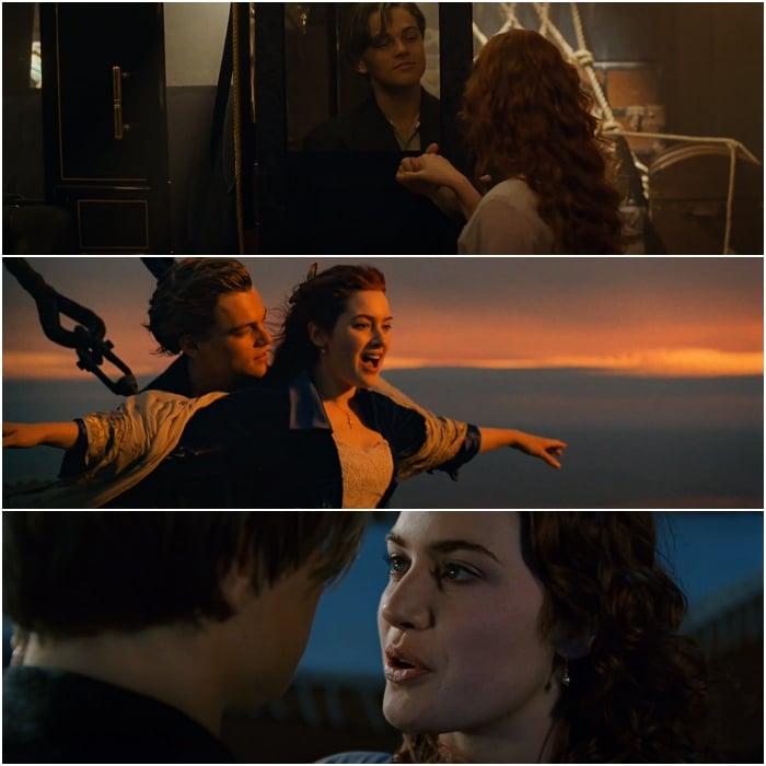 escenas de titanic
