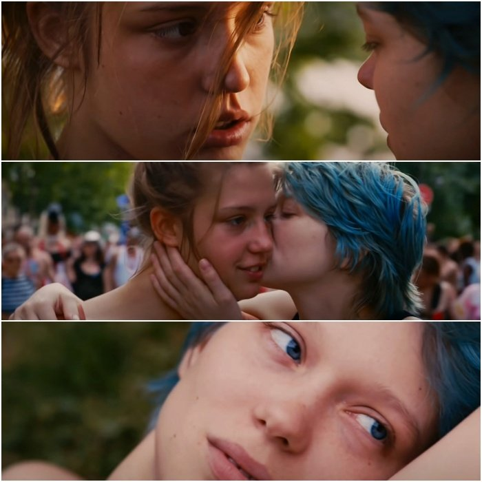 escenas de blue is the warmest color