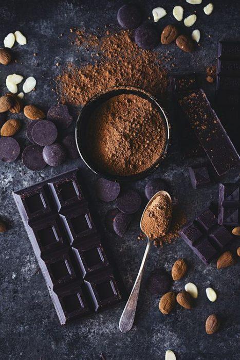 Cacao natural y en polvo para tinte casero