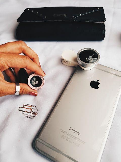 Lente para celular para fotografías con estilo profesional