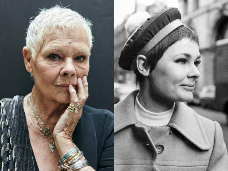Actrices mayores ahora y antes; Judy Dench joven