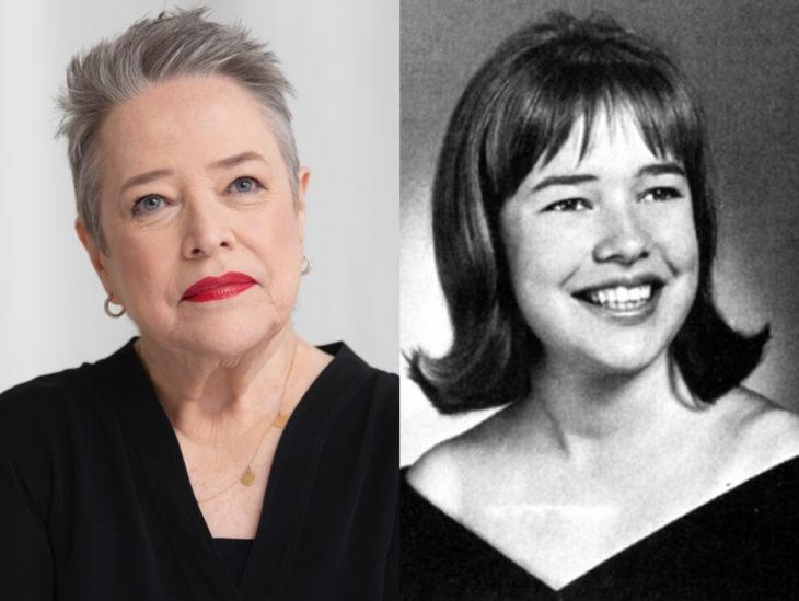 Actrices mayores ahora y antes; Kathy Bates joven