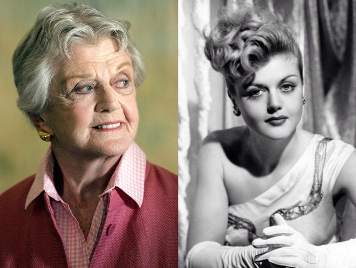 Actrices mayores ahora y antes; Angela Lansbury joven