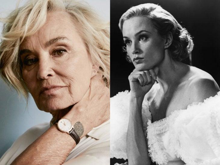 Actrices mayores ahora y antes; Jessica Lange joven