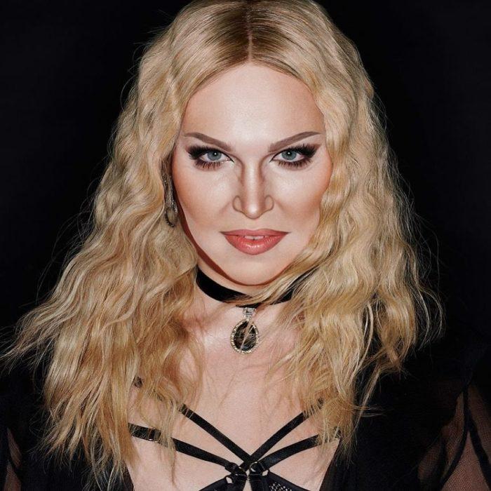 Alex Stone, maquillista, maquillado como Madonna