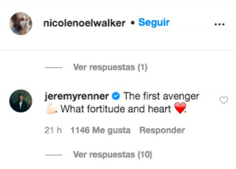 Jeremy Renner Tuit