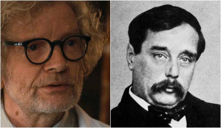 H.G. Tannhaus personaje de Dark está inspirado en el afamado autor del libro La Máquina del Tiempo, H.G. Wells.
