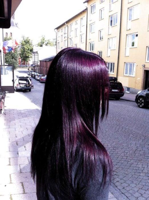 blackberry hair, tendencia para cabello oscuro