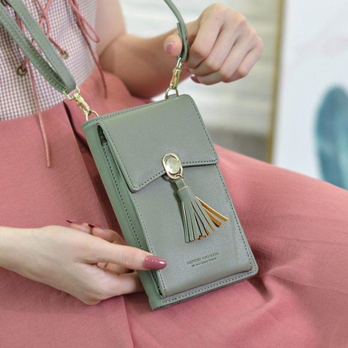 Aqua small handbag