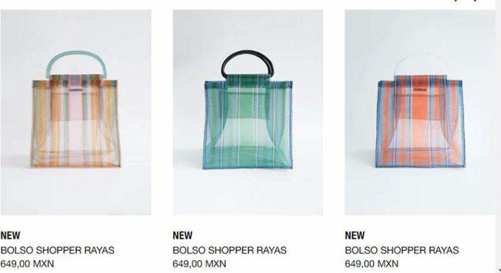 Bolso shopper de Zara