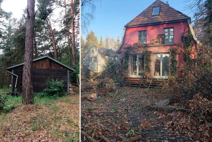 Casas que se usaron para la filmación de Dark