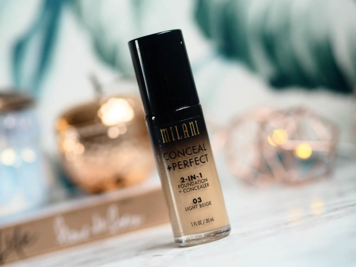 Conceal + Perfect Foundation de Milani
