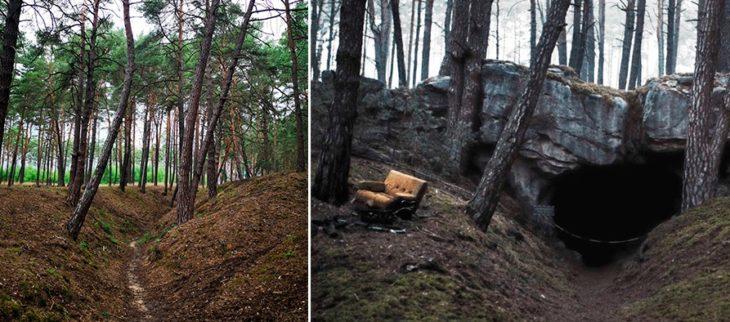 Locación de la cueva de la serie Dark