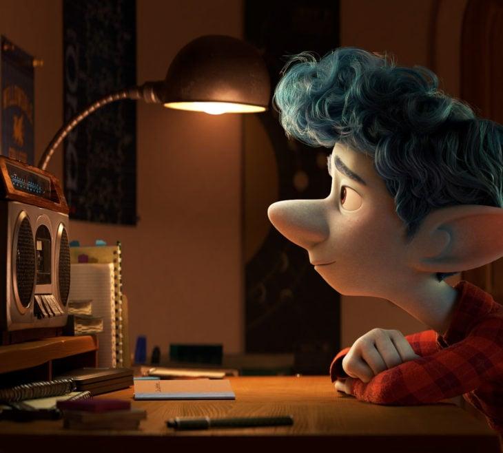 Escenas tristes de películas Disney; Unidos, Onward, Ian
