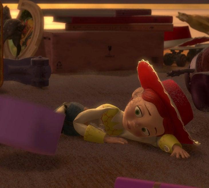 Escenas tristes de películas Disney; Toy Story, Jessie triste