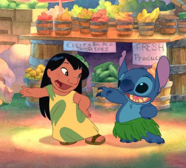 Escenas tristes de películas Disney; Lilo y Stitch