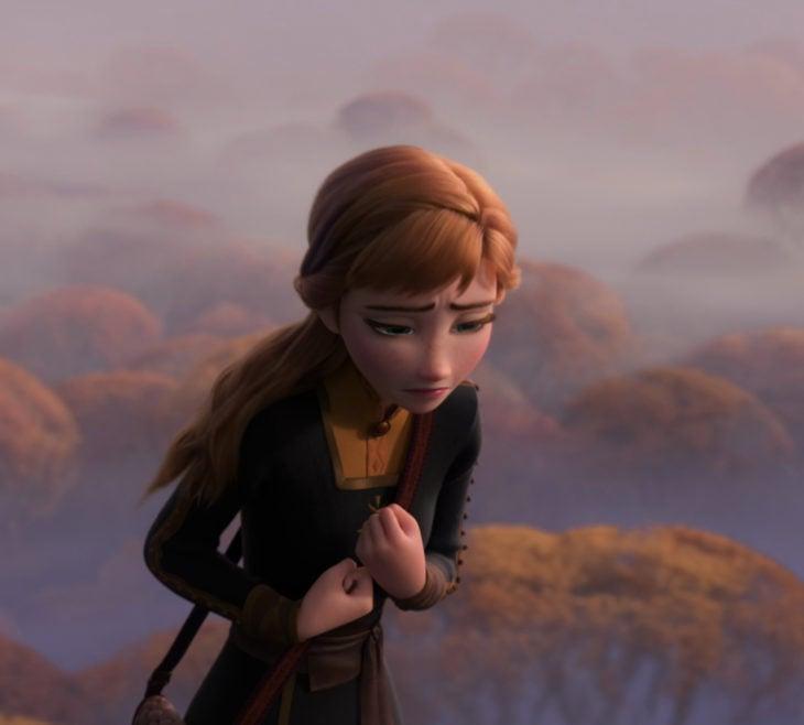 Escenas tristes de películas Disney; Frozen; Anna