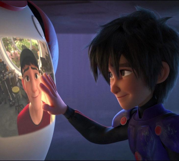 Escenas tristes de películas Disney; Grandes héroes, Hiro y Tadashi Hamada