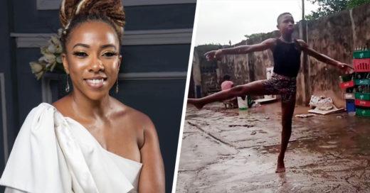 Bailarín se hizo viral en redes, tocando el corazón de Fadé Ogunro