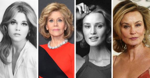 19 Fotos antes y ahora de actrices que conocimos siendo mayores