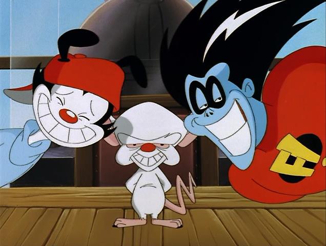 Fenomenoide personajes animados de la caricatura Animaniacs